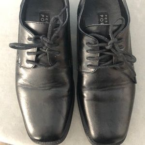 Boys Black Oxfords